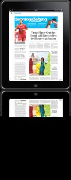 SonntagsZeitung und iPad, Ospel und BaZ