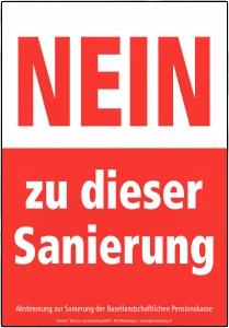 Plakat NEIN